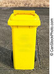 αποθήκη , ανακύκλωση , κίτρινο