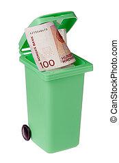αποθήκη , ανακύκλωση , μετρητά