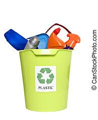 αποθήκη , ανακύκλωση , προϊόντα , πλαστικός
