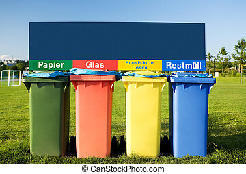αποθήκη , ανακύκλωση , σκουπίδια , σκουπίδια