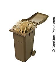 αποθήκη , ανακύκλωση , χαρτί , χαρτόνι