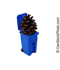 αποθήκη , ανακύκλωση , pinecone