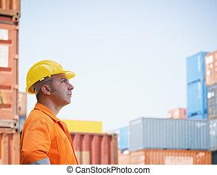 αποθήκη , βιομηχανικός δουλευτής