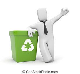 αποθήκη , επιχειρηματίας , ανακύκλωση