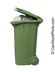 αποθήκη , κέρματα , ανακύκλωση