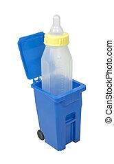 αποθήκη , μωρό , ανακύκλωση , μπουκάλι