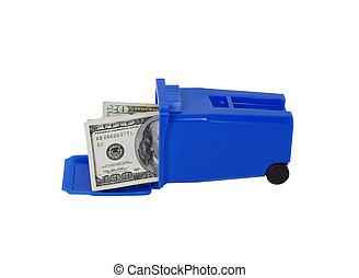 αποθήκη , χρήματα , ανακύκλωση