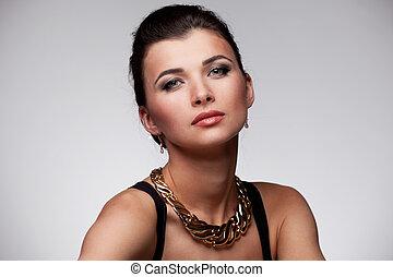 αποκλειστικός , γυναίκα , κοσμήματα