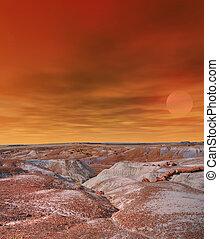 απολιθωμένος , arizona , δάσοs , ανατολή