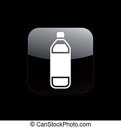 απομονωμένος , εικόνα , μονό , μικροβιοφορέας , μπουκάλι , εικόνα