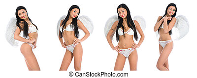απομονώνω , σεξουαλικός , άγγελος , φόντο