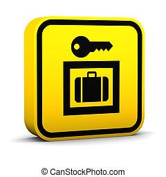 αποσκευές αποθήκη , σήμα