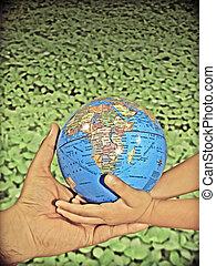 αποταμιεύω , γη , γενική ιδέα