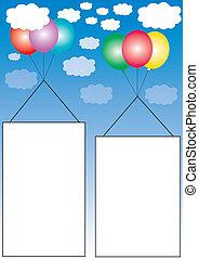 αποτελώ το πλαίσιο , μπαλόνι , διαφήμιση