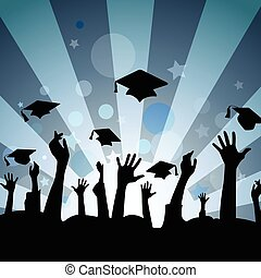 αποφοίτηση , εορτασμόs