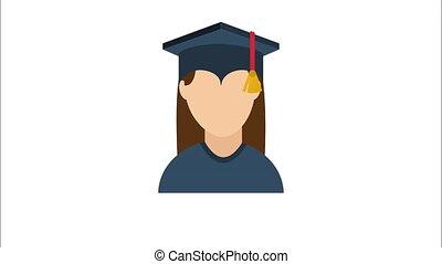 αποφοίτηση , σχεδιάζω , βίντεο , ζωντάνια