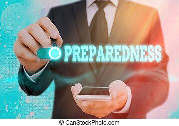 απροσδόκητος , γενική ιδέα , δηλώνω , ή , ζωή , λέξη , preparedness., γράψιμο , περίπτωση , εδάφιο , ποιότητα , επιχείρηση , events., έτοιμος