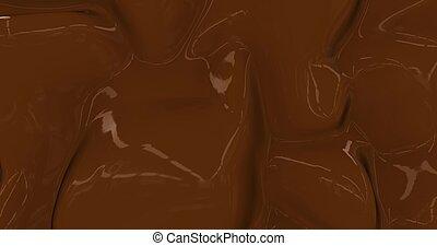 απόδοση , 3d , αίγλη , backdrop , σοκολάτα , animation., φόντο. , σκοτάδι , πλοκή , έλιωσα , υγρό , μετάξι , ζεστός