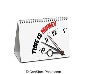 απόκομμα , χρήματα , ώρα , απομονωμένος , γραφείο , ατραπός , ημερολόγιο , άσπρο