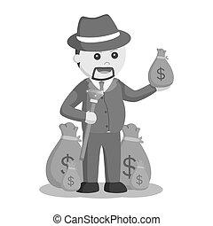 απόλυση από εργασία ή θέση , χρήματα , έγκλημα , αφεντικό