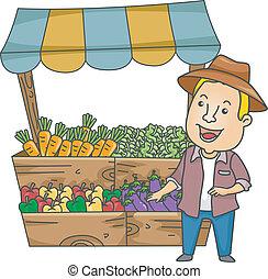 από λαχανικά ακουμπώ