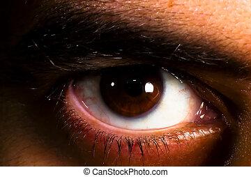 αραβικός , μάτι