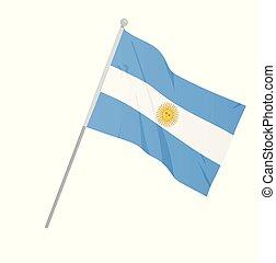 αργεντινή , εθνική σημαία