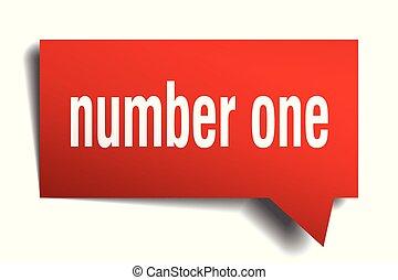 αριθμητική 1 , αγόρευση αφρίζω , κόκκινο , 3d