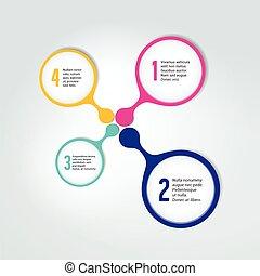αριθμητική , infographic, scheme., element., φόρμα