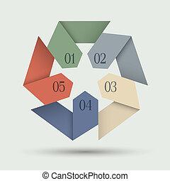 αριθμητική , origami , σημαίες , χαρτί