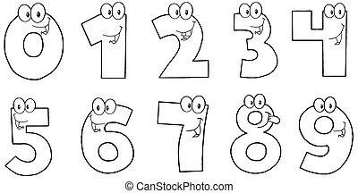 αριθμοί , αστείος , γενικές γραμμές