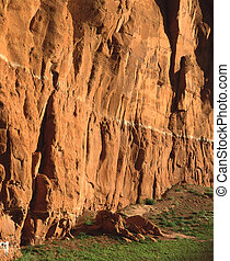 αριστερός βράχος αναστάτωση αγρός , gallup , nm