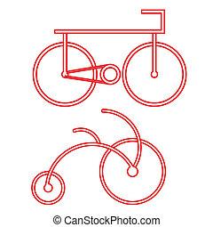 αριστερός δίκυκλο , σύμβολο , μικροβιοφορέας