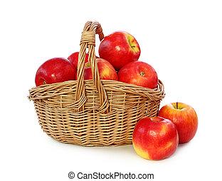 αριστερός μήλο , μέσα , καλαθοσφαίριση