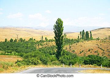 αρμενικός , τοπίο