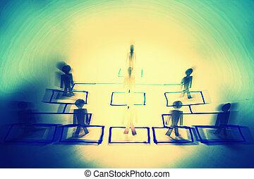 αρμοδιότητα διοργάνωση γραφική παράσταση , γενική ιδέα