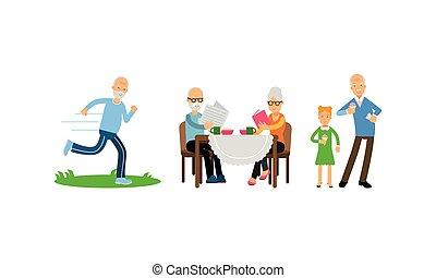 αρραβωνιασμένος , εικόνα , γράμμα , ηλικία , μικροβιοφορέας , θέτω , αρμοδιότητα , συνταξιούχος , γριά , καθημερινά , άνθρωποι