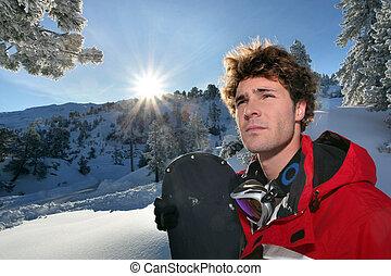 αρσενικό , snowboarder