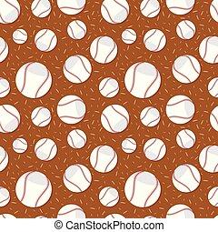 αρχίδια , πρότυπο , seamless, μπέηζμπολ , ilustration