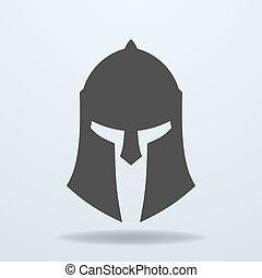 αρχαίος , spartan, ρωμαϊκός , ελληνικά , helmet., εικόνα