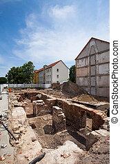 αρχαιολογική ανασκαφή , frankfurt , (oder)