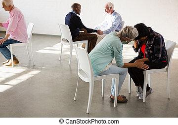αρχαιότερος , άνθρωποι , ζεσεεδ , κάθονται