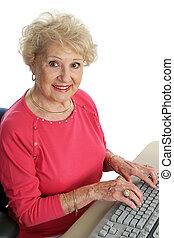 αρχαιότερος , @ , ηλεκτρονικός υπολογιστής