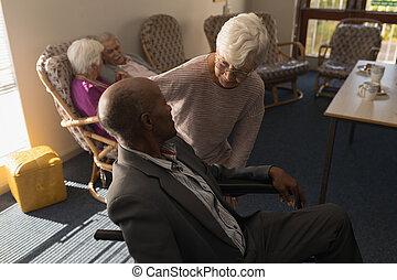αρχαιότερος , σπίτι , λόγια , disable, ανήρ γυναίκα , θηλασμός