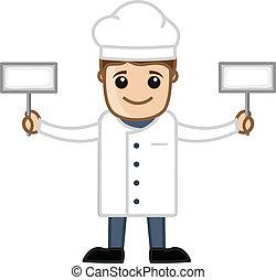 αρχιμάγειρας , - , γελοιογραφία