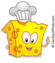 αρχιμάγειρας , τυρί