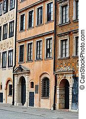 αρχιτεκτονική , από , αγαπητέ μου δήμος , μέσα , βαρσοβία , πολωνία