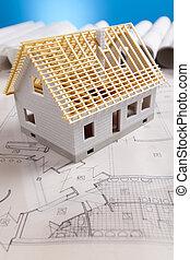 αρχιτεκτονική διάγραμμα , και , σπίτι