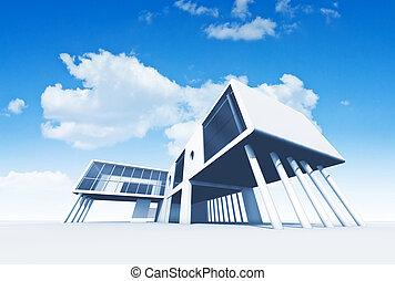 αρχιτεκτονική , εξέχω