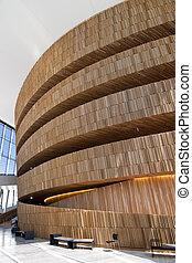 αρχιτεκτονική , εσωτερικός , μέσα , όσλο